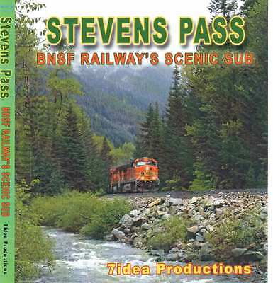 Stevens Pass Bnsf Blu Ray 7idea Productions