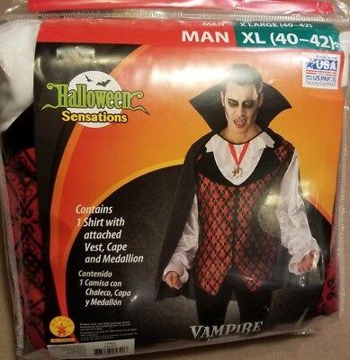 Men's Vampire Costume (XL - Vampire Costumes For Men
