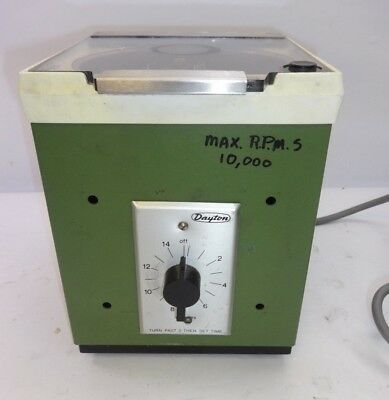 Beckman Microfuge B Cat. No. 338720 10000 Rpm Tabletop Centrifuge Tested