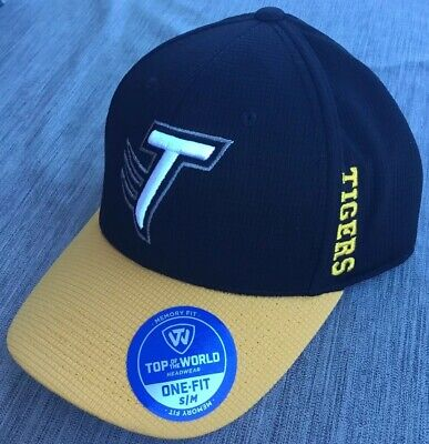 Top of the World Towson Tigers One Fit Memory Foam Cap Hat Size (Fit Towson)