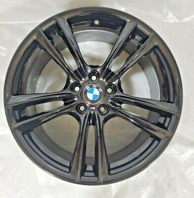 "20"" BMW 535i GT, 550i GT, 740i, 750i, 760i Rim Black 36117841824 BMW 535XI 2012"