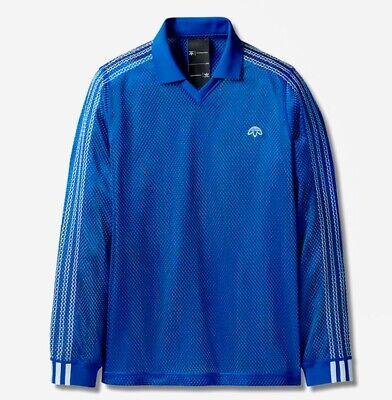 Adidas Originals x Alexander Wang, Mens Long Sleeve Mesh T Shirt, Small, BNWT.