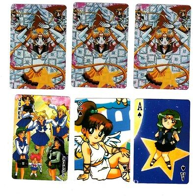 Sailor Moon Anime Prism Cover Poker Playing Card Deck RARE Brand New