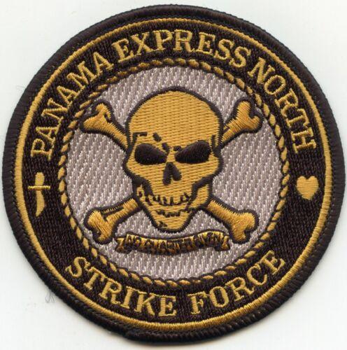 DEA ORGANIZED CRIME PANAMA EXPRESS NORTH STRIKE FLORIDA NARCOTICS POLICE PATCH