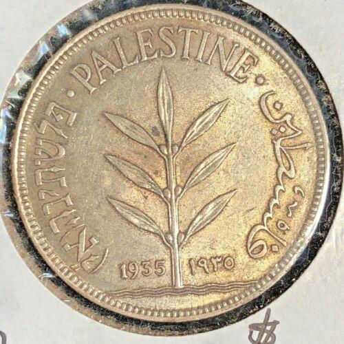 Palestine 1935  100 Mils  KM 7 AU+