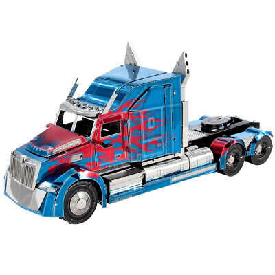 Metal Earth: Iconx Optimus Prime Western Star 5700 Truck