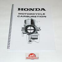 Honda Carburatore Set Up Manuale Di Istruzioni, Riproduzione Hwm006 - honda - ebay.it