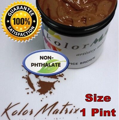 Gen Opaque Spice Brown Premium Plastisol Screen Print Ink - Non Phthalate Pint