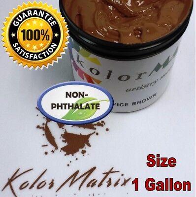 Gen Opaque Spice Brown Premium Plastisol Screen Print Ink - Non Phthalate Gallon