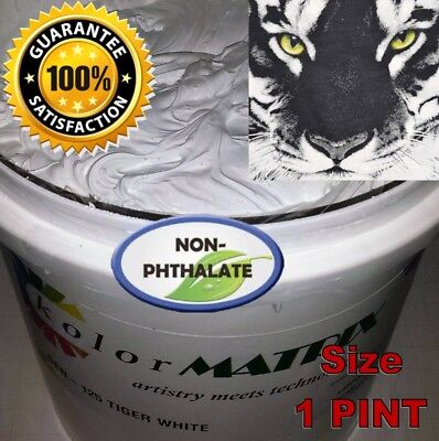 Tiger White Ho Lb Fast Flash Plastisol - Non Phthalate- Screenprint Ink Gallon