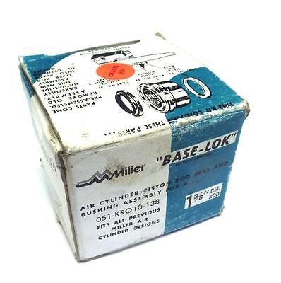 New Miller Fluid Power 051-kr010-138 Rod Seal Kit 051-kro10-138 1 38