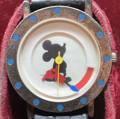 """Vintage Mens Mickey Mouse Watch — Limited Edition 1 Of 10,000 - """"Michael Graves"""""""