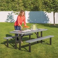 Folding Picnic Table Rental for your next event