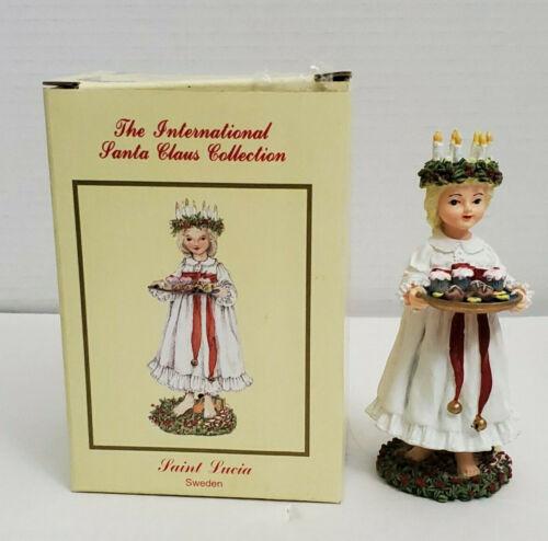 International Santa Claus Collection Figurine SWEDEN Saint Lucia SC39 Box