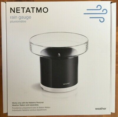 NETATMO RAIN GAUGE NRG01-WW BRAND NEW