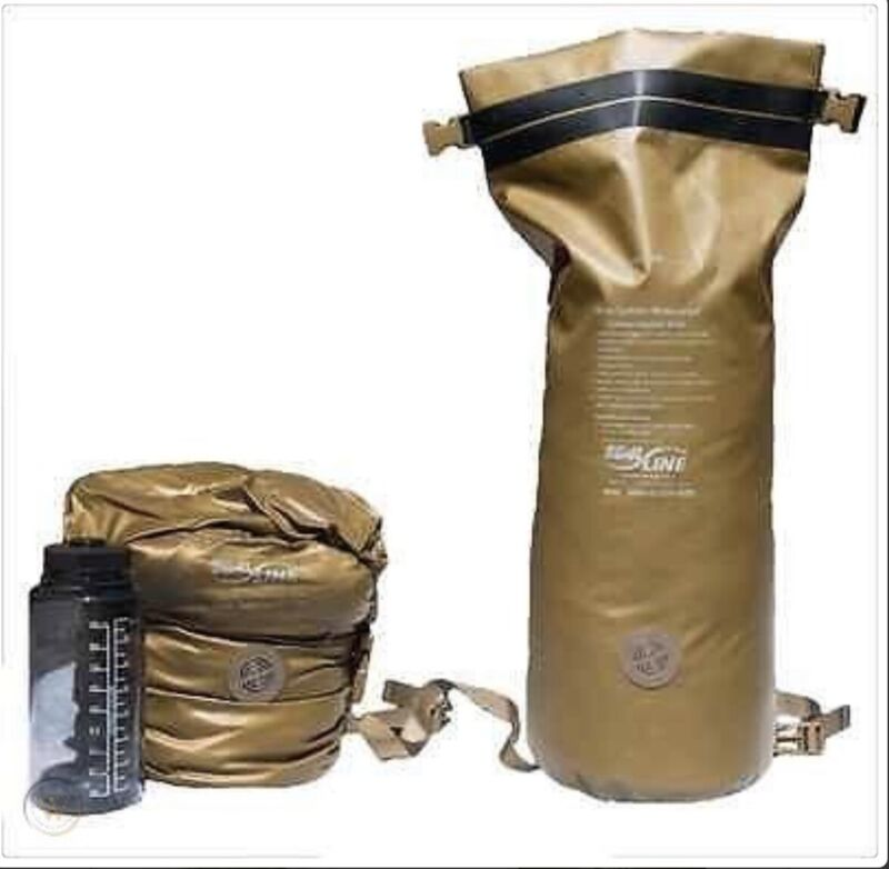 USMC Waterproof Compression Sack - Marine Corps Sleeping Bag Weatherproof Bag