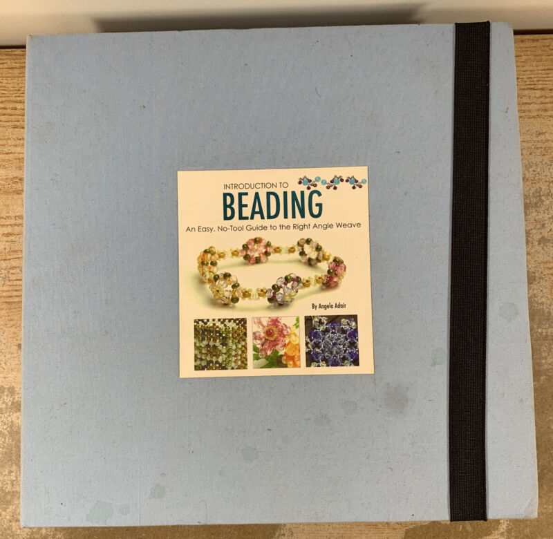 Introduction to Beading An Easy, No-Tool Guide to the Right Angle Weave by Adair