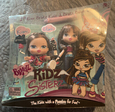 Bratz Kidz Sisterz Kiani & Lilani Dolls 1st Ever 2 in 1 RARE
