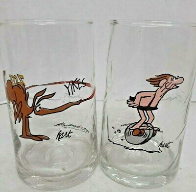 Vintage arby's bc glasses 1981 Ice Age collector set Thor Zot lot 2