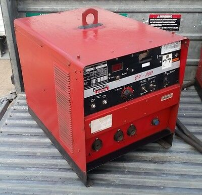 Lincoln Electric Idealarc Cv-300 Mig Welder