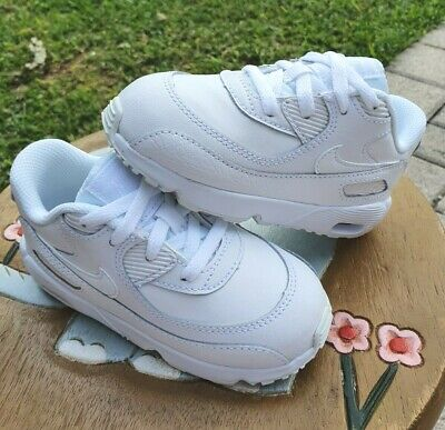 """Nike Air Max 90 """"Pure Platinum"""" BRAND NEW Toddler 8C"""