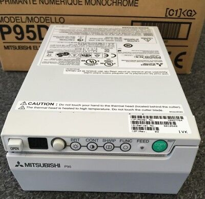 Mitsubishi P95dw-ns Printer On Siemens Ultrasound Great Clean Units 30 Dmb