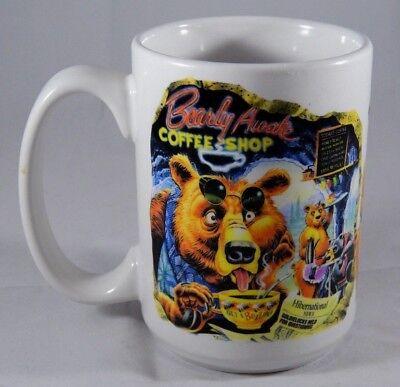 Bearly Awake Coffee Shop Mug Cup Bear Diner Scene CUPPA Caribbean Soul U.S.A.