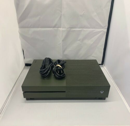 Microsoft Xbox One S 1TB Battlefield™ 1 Special Edition Console Bundle Military Green 234-00055