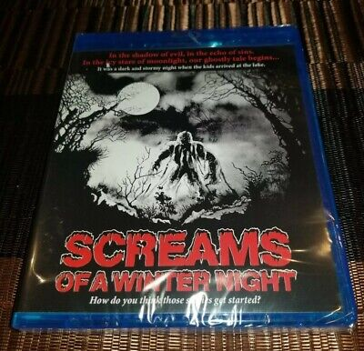SCREAMS OF A WINTER NIGHT Blu-Ray RARE 1979 UNCUT Horror CODE RED NEW