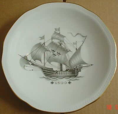 Rörstrand Collectors Plate WITH COMPLIMENTS OF SVENSKA ORIENT LINIEN 1500