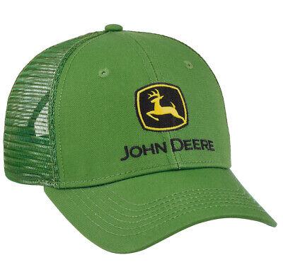 Men/'s John Deere Neon and Charcoal Hat LP67045 Cap