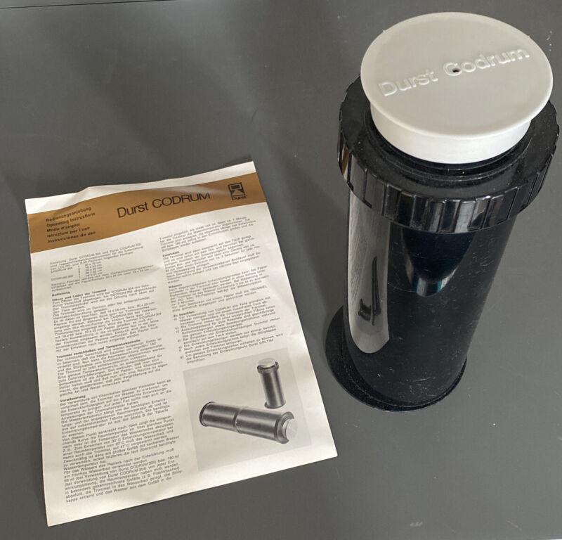 Durst CODRUM 205 10x8 Inch / 20x25cm Print Processing Drum, Darkroom Developing