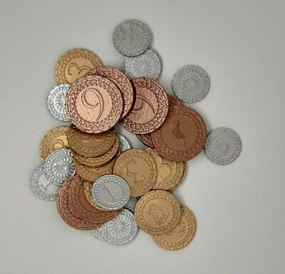 3D Printed 7 Wonders Duel Currency Token Replacement Coins