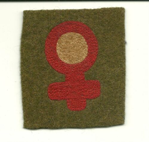 US 6th Infantry Division WW1 Wool Patch No Glo Original/Genuine Scarce!  8
