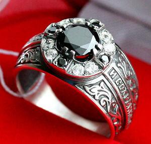 men russian orthodox ring prayer protectve ring new gem