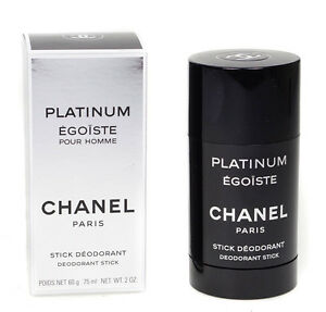 Chanel Platinum Egoiste Pour Homme Deodorant Stick 75ml For Men