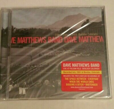 New 2 CD! Dave Matthews Band -Live at Folsom Field, Boulder, Colorado DMB (Dave Matthews Band Live At Folsom Field)