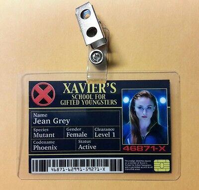 X-Men Id-Plakette - Xavier's Schule Jean Grey Phoenix Cosplay Requisite - Phoenix Kostüm X Men