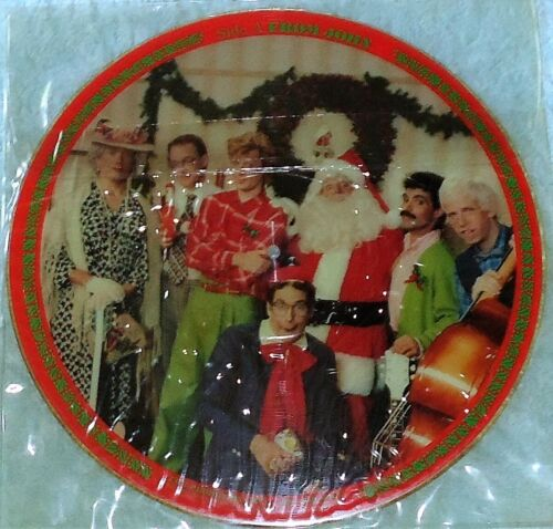 """Hall & Oates CHRISTMAS 12"""" PICTURE DISC Never Played Promo Single!"""