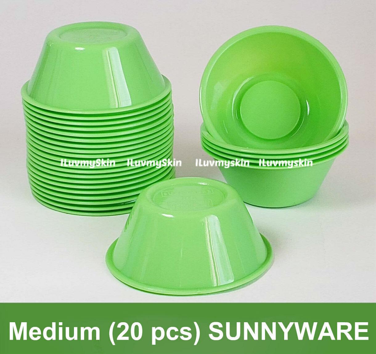 Medium (20 pieces) SUNNYWARE Brand