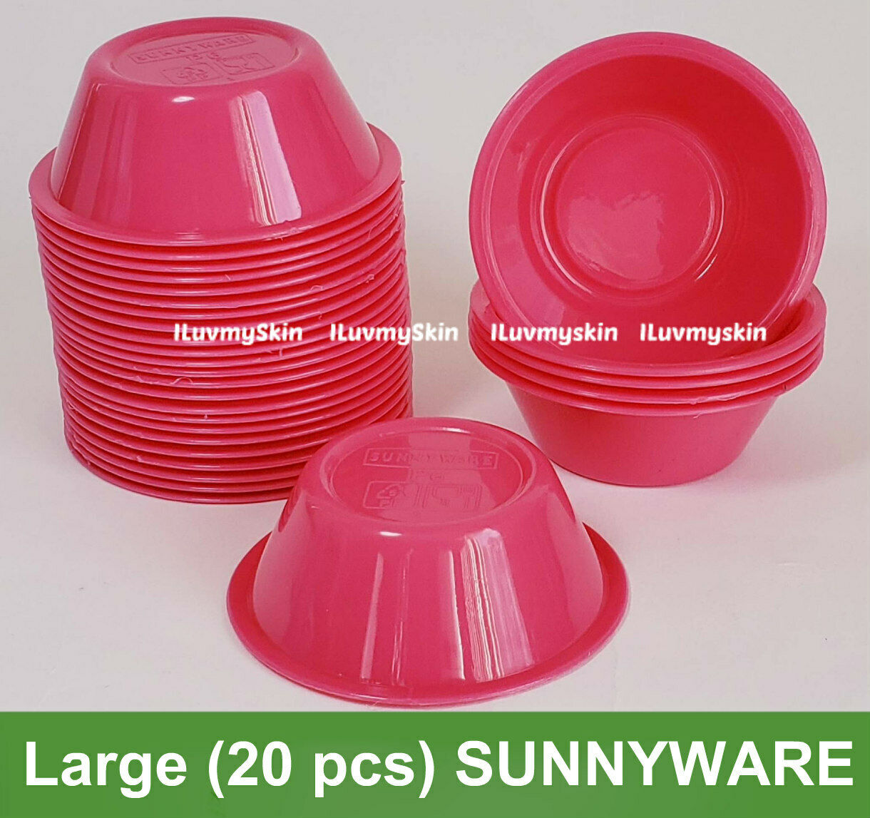 Large (20 pieces) SUNNYWARE Brand