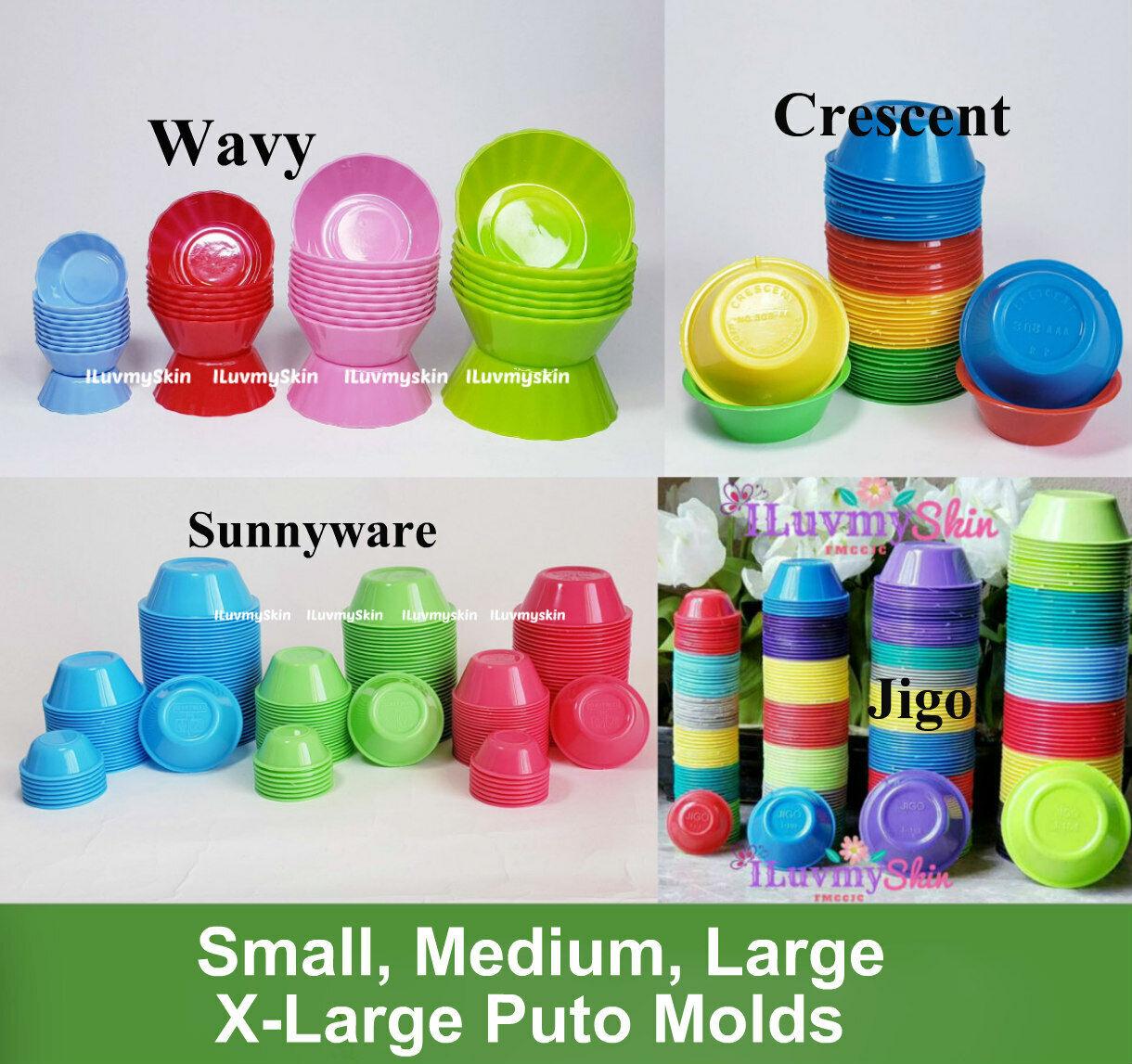 Puto, Kutsinta, Pichi Pichi Plastic Cup Molder...Different Brands and Style