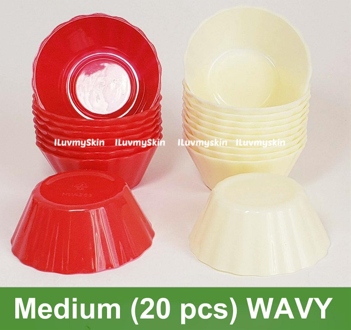 Medium (20 pieces) WAVY Style