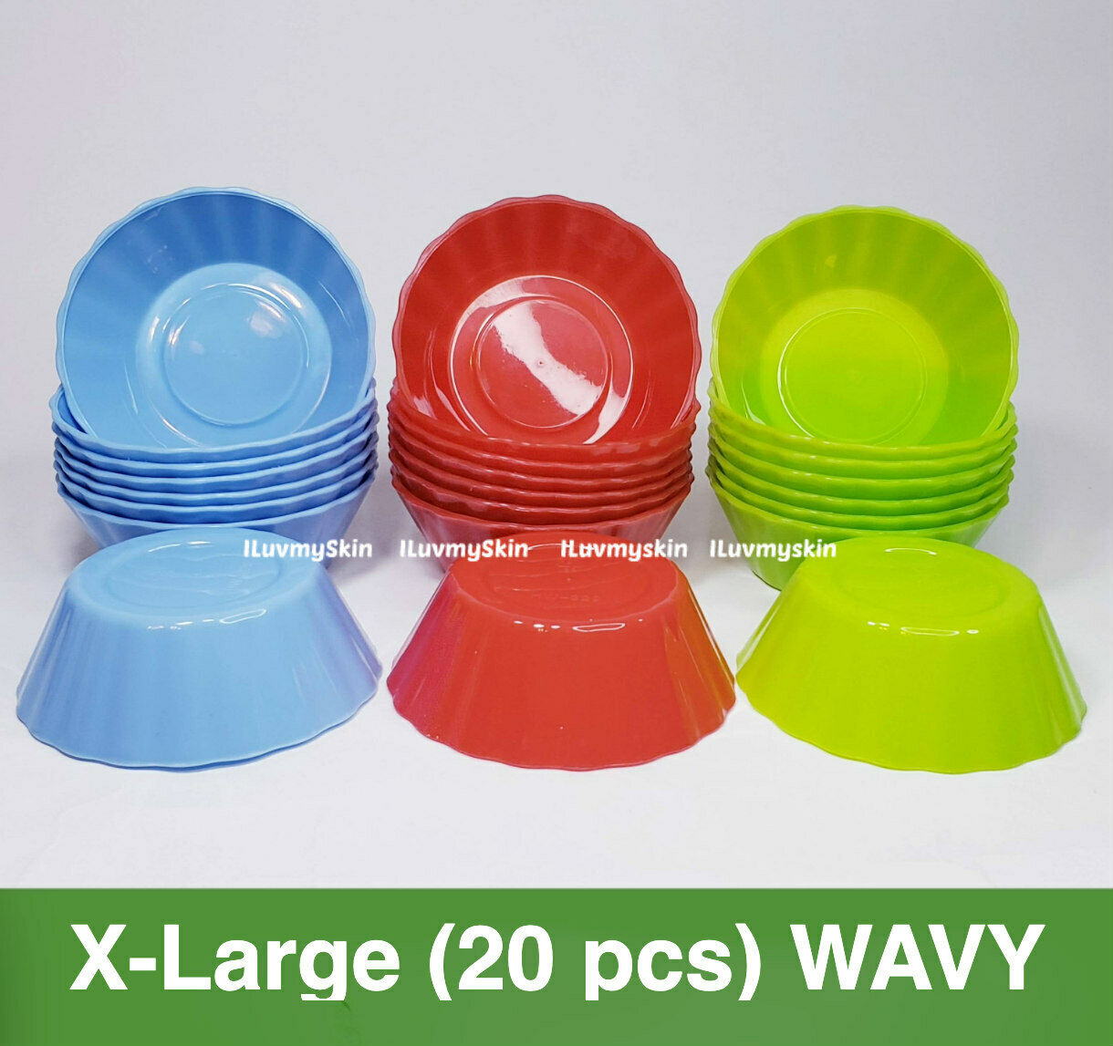 X-Large (20 pieces) WAVY Style