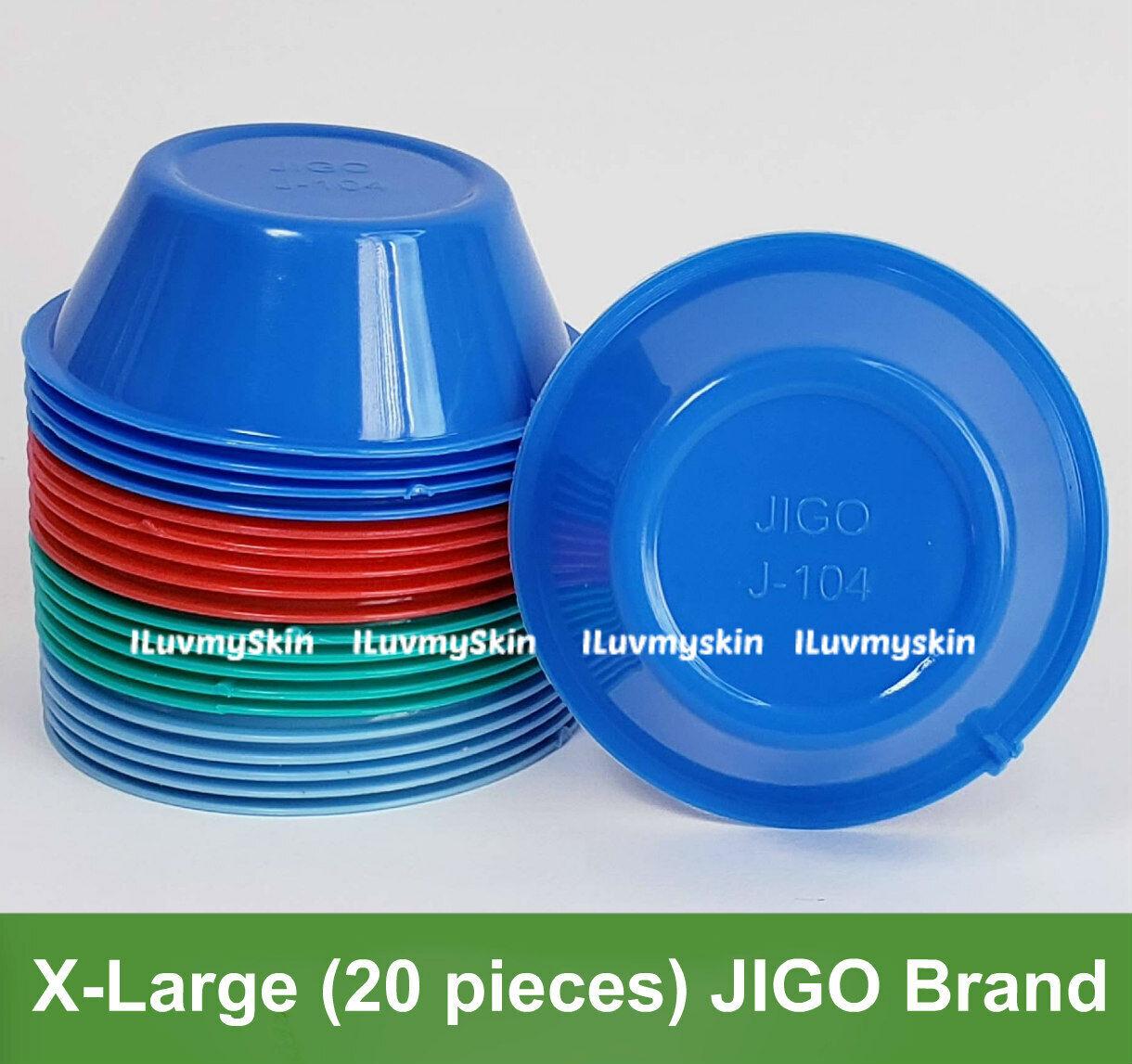 X-Large (20 pieces) JIGO Brand