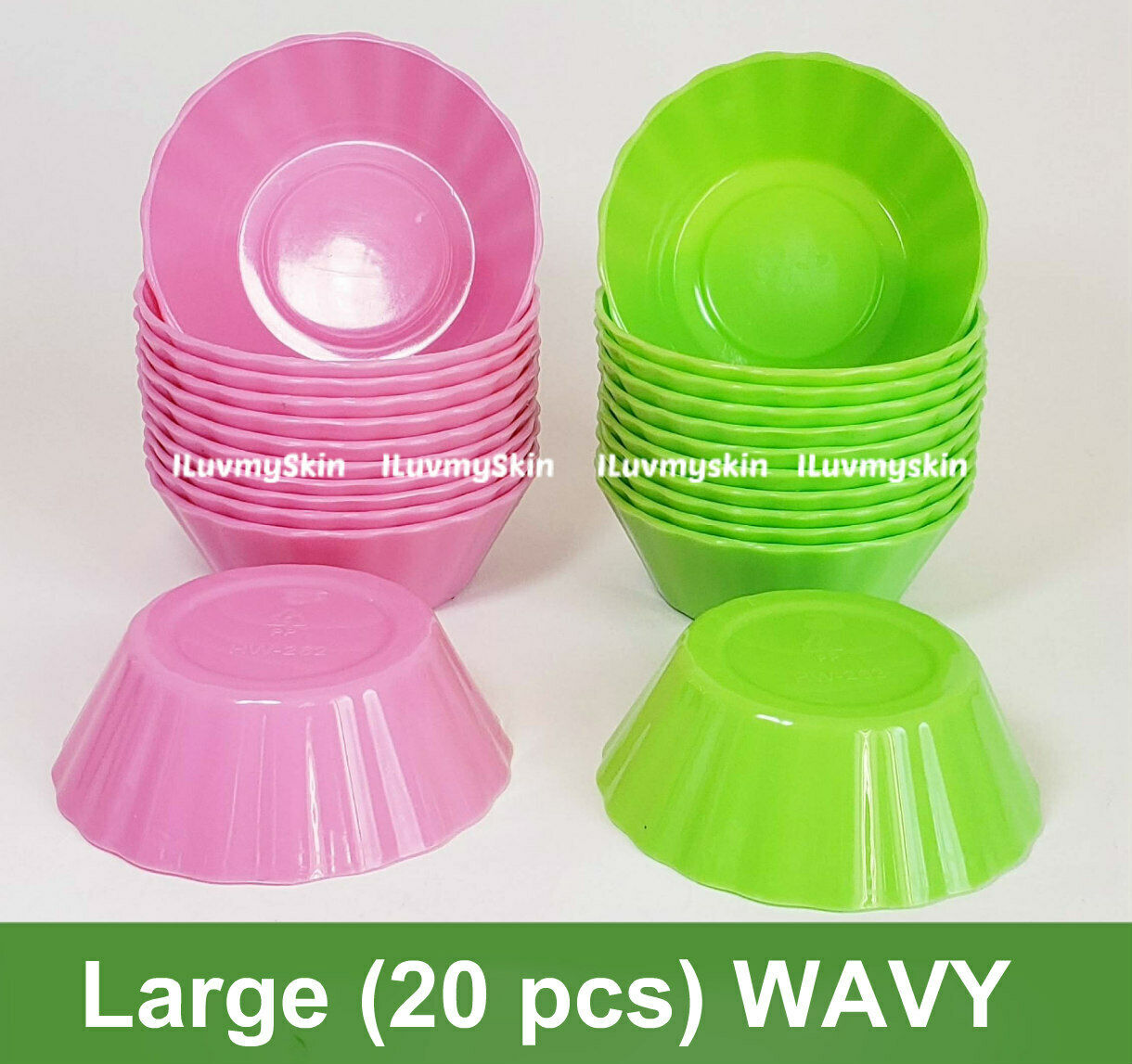 Large (20 pieces) WAVY Style