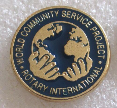 Rotary International - World Community Service Project Lapel Pin