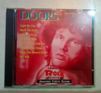 THE DOORS - LIVE IN STOCKHOLM 1968 CD - IL DIZIONARIO DEL ROCK 1992 - COME NUOVO segunda mano  Embacar hacia Argentina