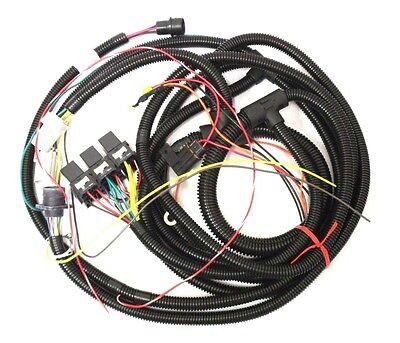 Hiniker Snowplow Plow Side 3 Pin Plug w// Wire Leads 38813077