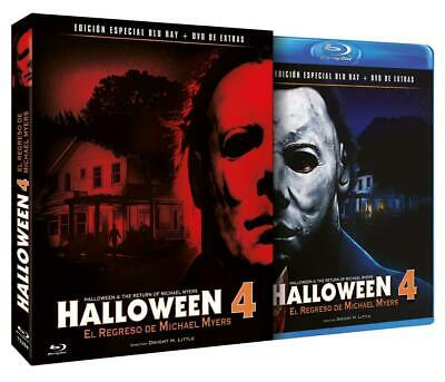 HALLOWEEN 4 - RETURN OF MICHAEL MYERS -  Blu Ray - Sealed Region B for UK ()